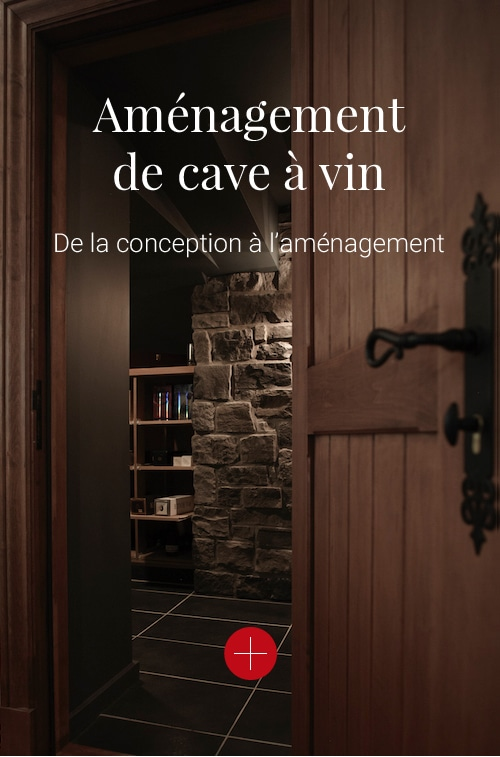 Aménagement de caves à vin