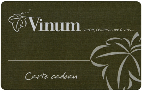 Vinum Design Gift Cards