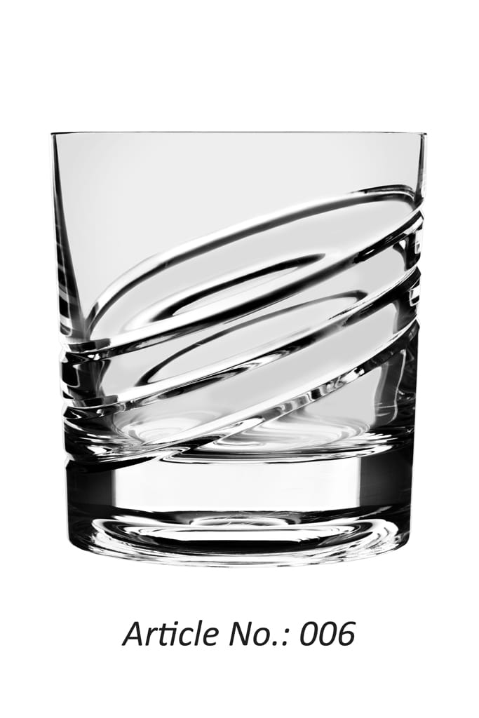 Whisky Roulette Glass no. 6