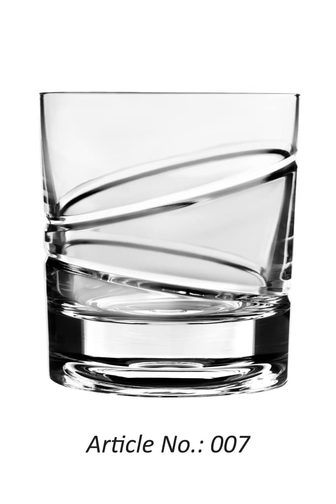 Whisky Roulette Glass no. 7