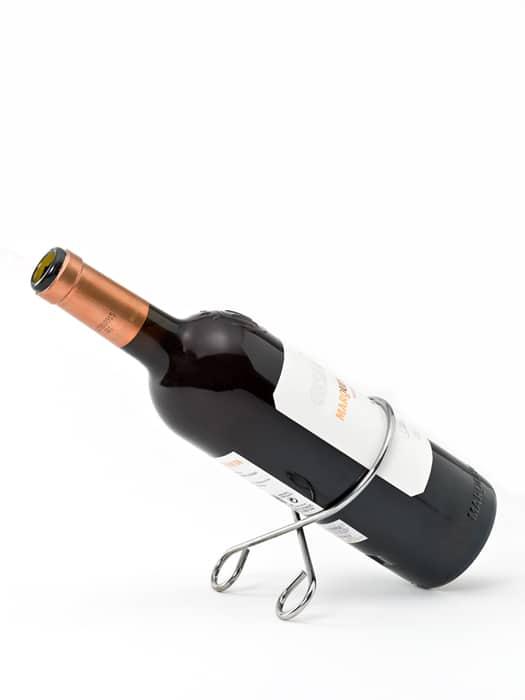 Support à bouteille pour la table