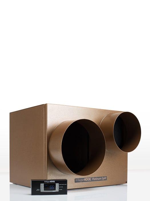 Wine cellar cooling unit 4000 WhisperKool Ducted Platinum Split Series