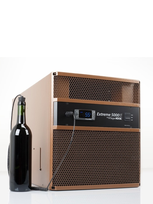 Wine cellar cooling unit 5000ti WhisperKool Extreme Series