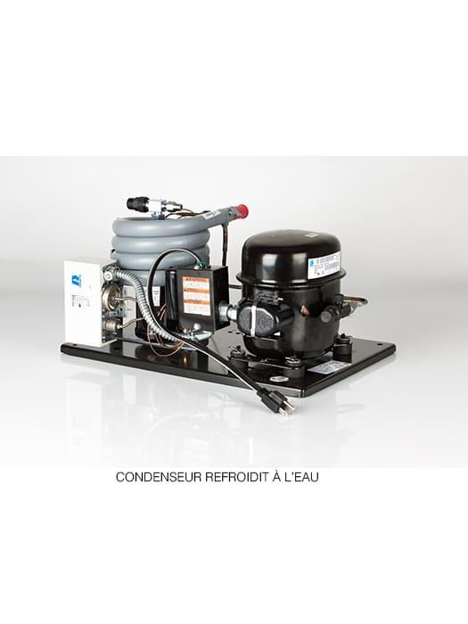 Climatiseur de cave à vin WhisperKool Platinum Split 8000 à conduit