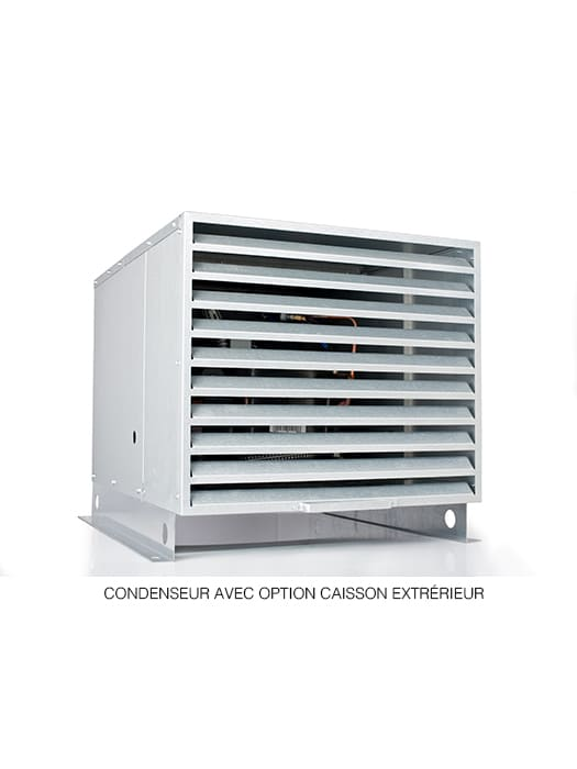 Wine cellar cooling unit 8000 WhisperKool Ducted Platinum Split Series