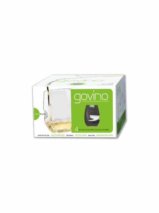 Box of 4 white wine Polymer glasses – Govino