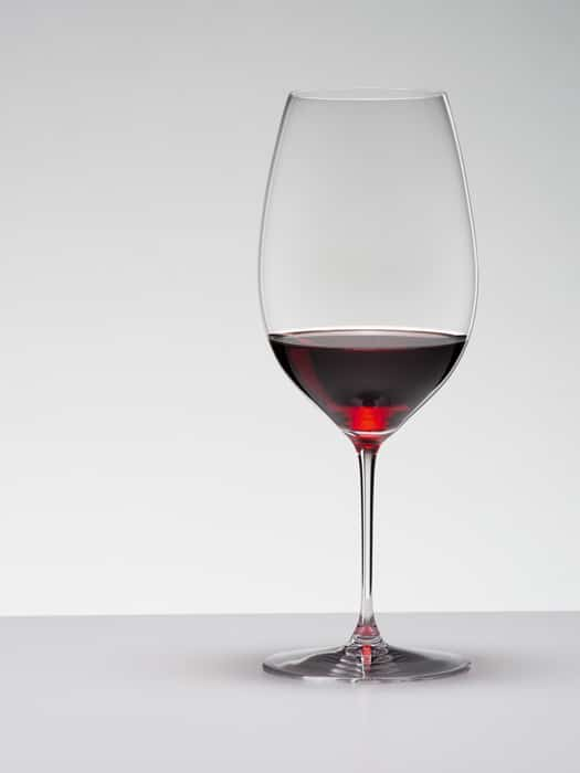 Riedel Veritas glass – New World Shiraz