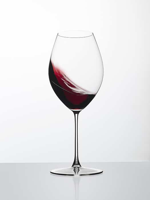 Riedel Veritas glass – Old world Syrah