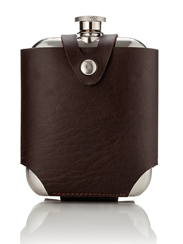 Flask Admiral 5 oz with traveling case