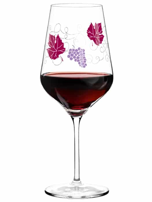 Ritzenhoff Red Wine by Andrea Hilles