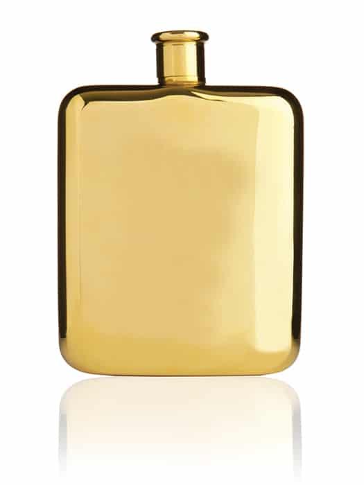 Flasque 6 oz Belmont Or 14 carats