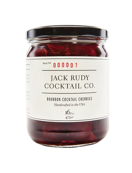 Bourbon cocktail cherries – Jack Rudy