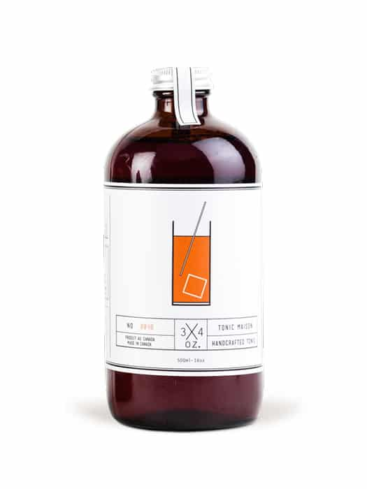 Handcrafted tonic syrup – 3/4 oz