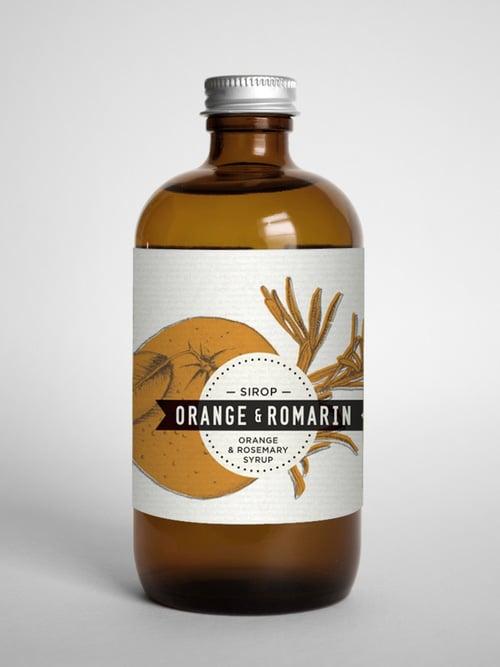 Orange & Rosemary syrup – Les Charlatans