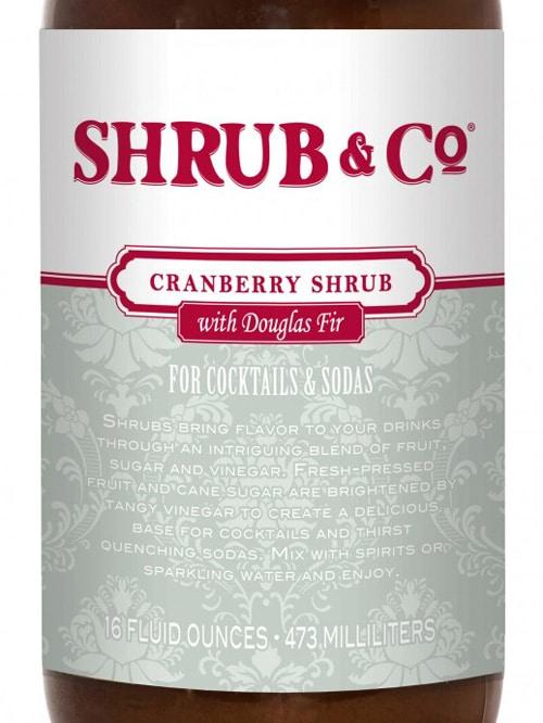 Cranberry & Douglas fir shrub – Shrub & Co
