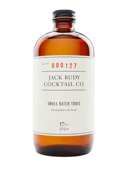 small batch tonic jack rudy