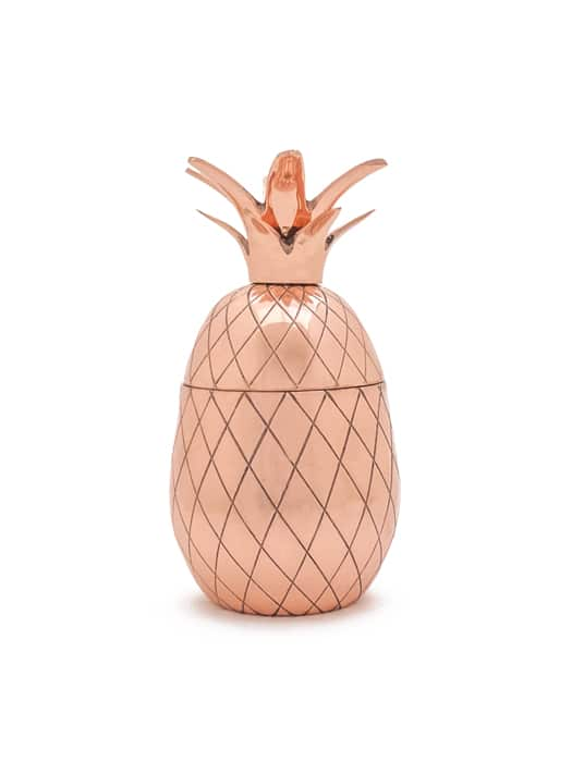 Copper 'Pineapple' tumbler
