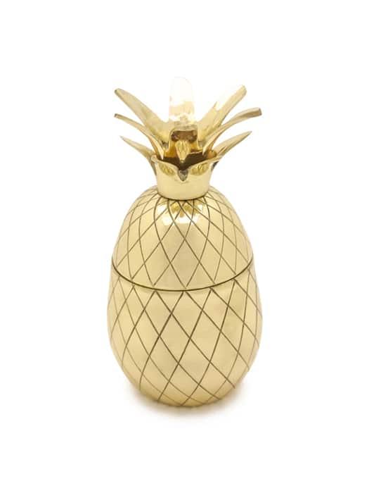 Tumbler 'Pineapple' doré