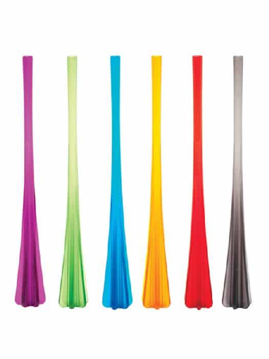 Cocktail muddler-straw – Set of 6