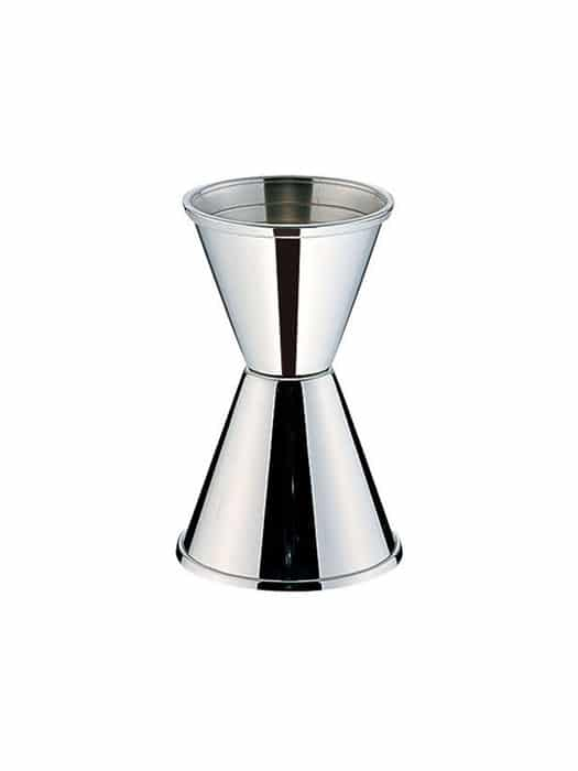 'Conique' stainless steel jigger
