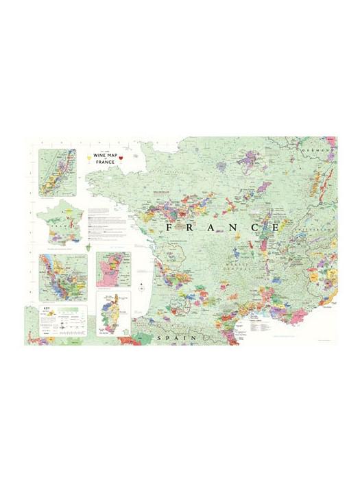Carte viticole de la France