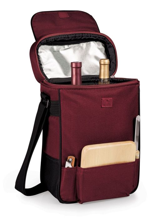 Duet 2-bottle wine tote