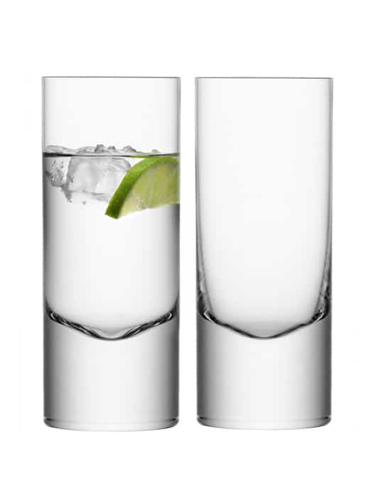 Set of 2 highball glasses