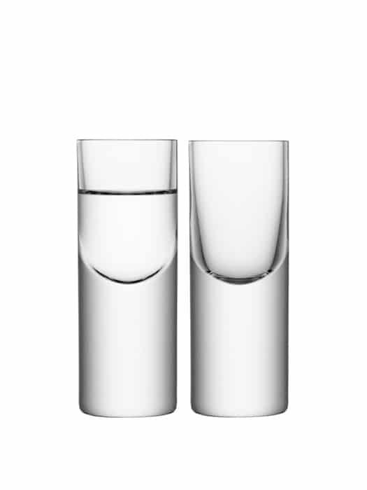 Ens de 2 verres à vodka