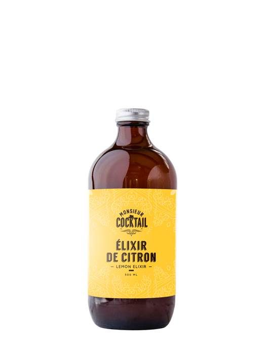 Sirop de citron – Monsieur Cocktail