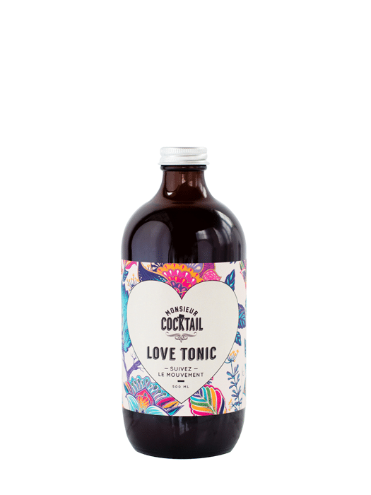 Love Tonic Syrup – Monsieur Cocktail