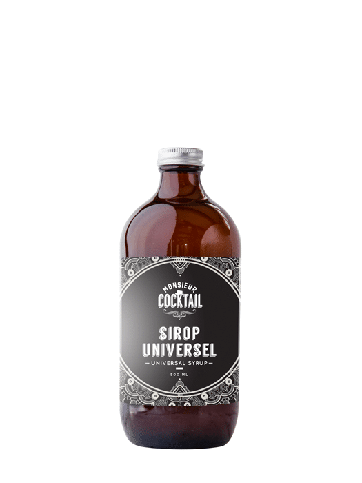 Universal syrup – Monsieur Cocktail