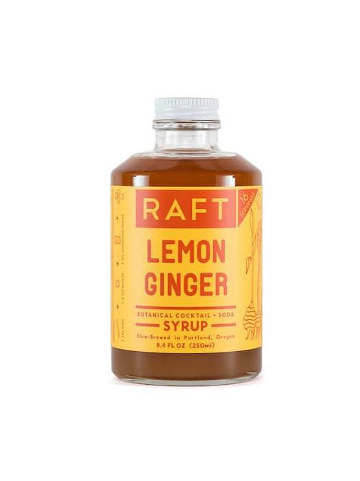 Lemon-Ginger syrup – Raft Syrups