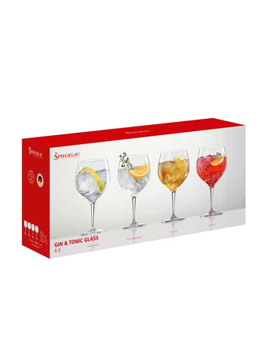 Set of 4 Gin & Tonic glasses – Spiegelau