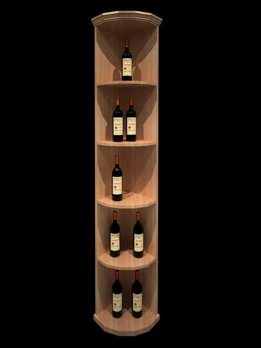 Round corner shelf – Elite Kit