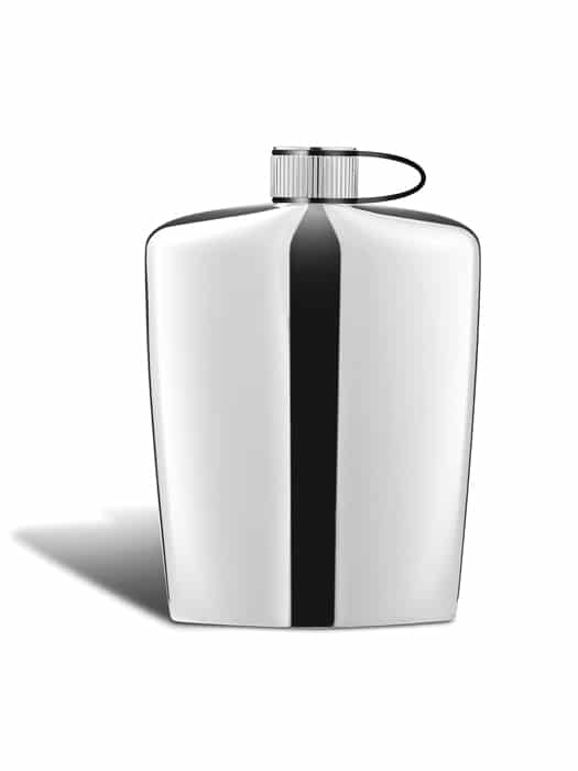 Nuance stainless steel flask