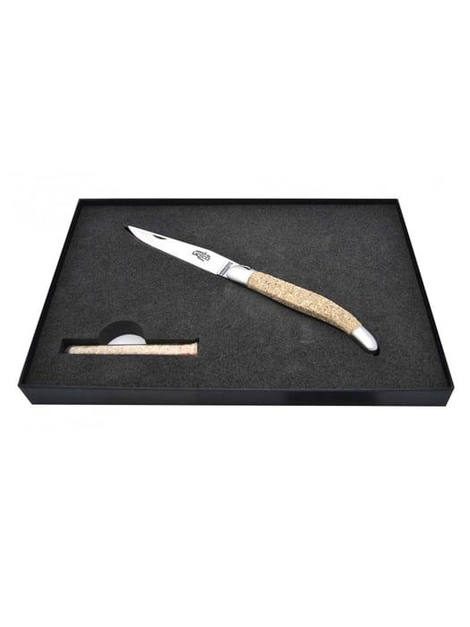 Sand from Mont-Saint-Michel folding knife – Forge de Laguiole