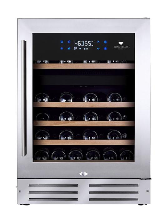 Cellier Wine Cell'R Platinum 46 Bouteilles 2 zones