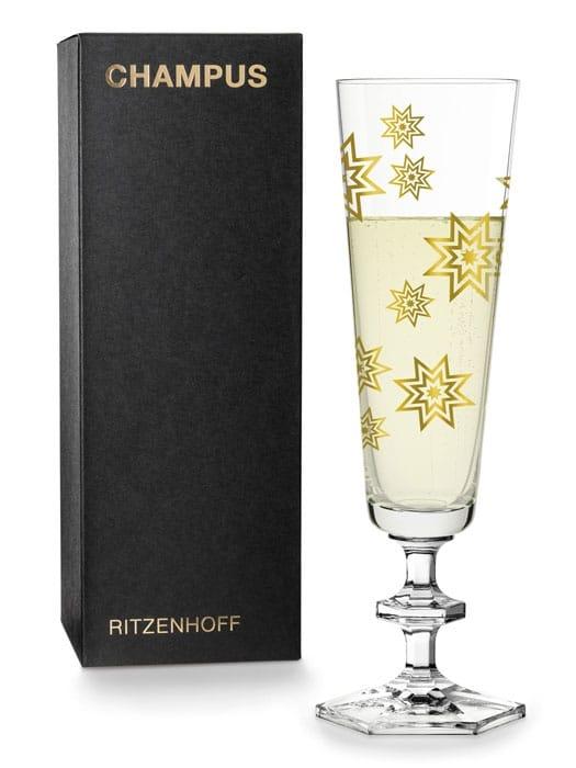 Champagne glass by SIEGER DESIGN – Ritzenhoff THE NEXT 25 YEARS