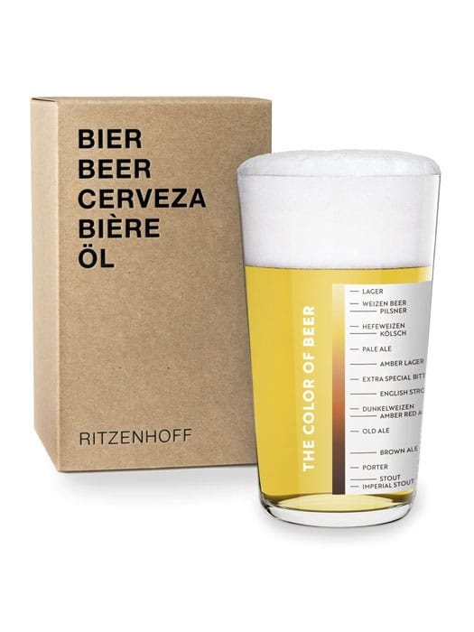 Beer glass by STUDIO BESAU-MARGUERRE – Ritzenhoff THE NEXT 25 YEARS