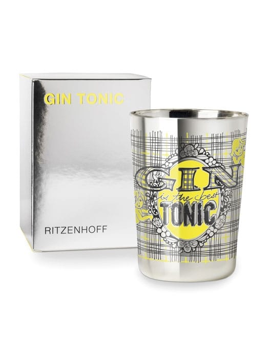 Gin tonic glass by CLAUS DORSCH – Ritzenhoff THE NEXT 25 YEARS