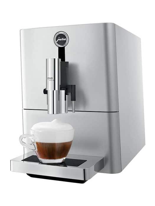 ENA Micro 90 Jura coffee machine – silver » Vinum Design
