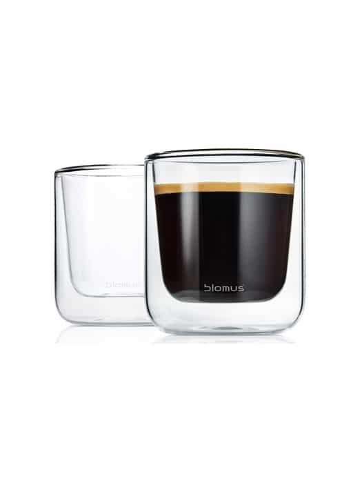 Ens de 2 tasses à café Nero