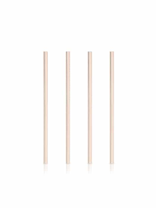 Set of 4 copper straws 8.5in – Viski