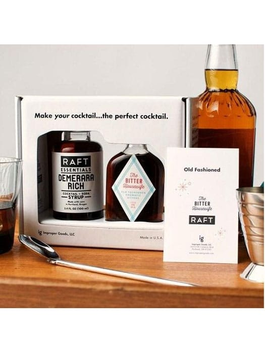 Kit Old fashioned – Raft Syrups