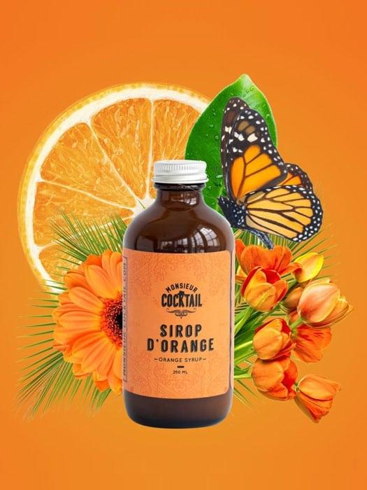 Sirop d'orange – Monsieur Cocktail