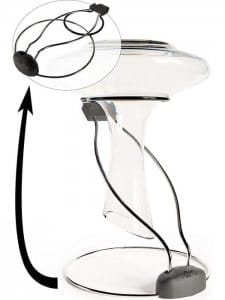 Foldable Wine Decanter Drying Stand – Brilliant