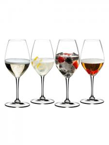 Ens de 4 verres à Champagne Mixing – Riedel