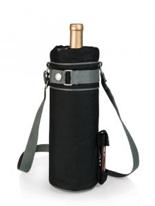 Losping Sac de transport en cuir pour 2 bouteilles de vin et champagne avec poign/ée