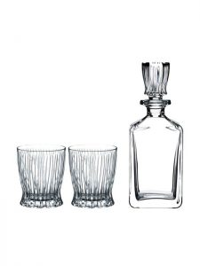 Set of FIRE spirits decanter and 2 glasses – Riedel Bar
