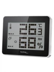Grand thermomètre-hygromètre numérique pour cave à vins